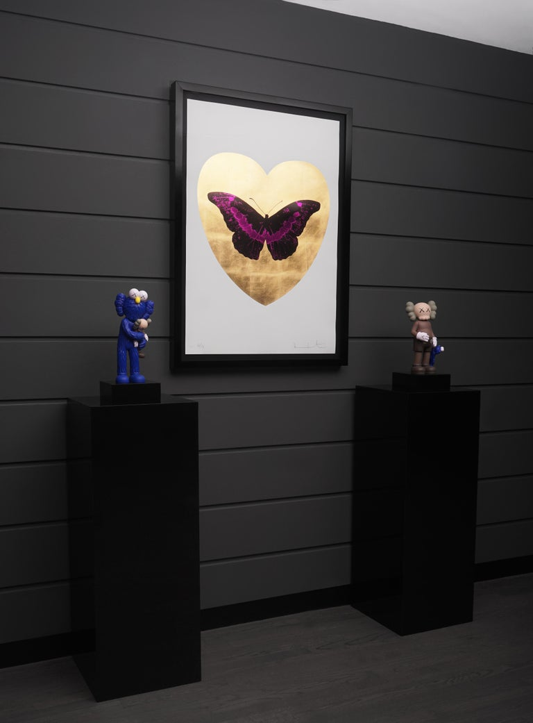 Damien Hirst, I Love You Butterfly, Fuchsia/Gold, 2015 5