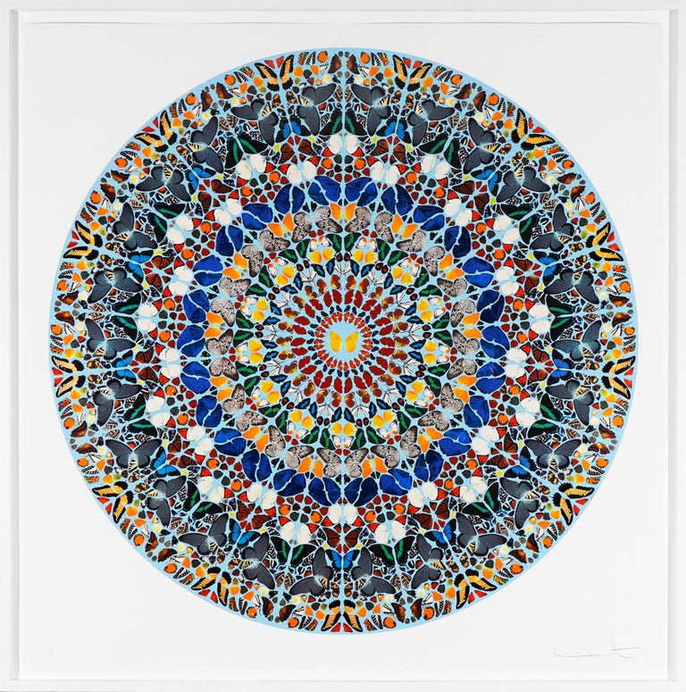 Damien Hirst, Mantra with Diamond Dust, 2011 - Print by Damien Hirst