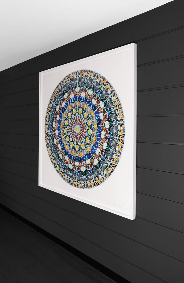 Damien Hirst, Mantra with Diamond Dust, 2011 - Contemporary Print by Damien Hirst