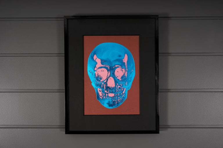 Damien Hirst, Skull, Brown/Blue, 2012 - Contemporary Print by Damien Hirst