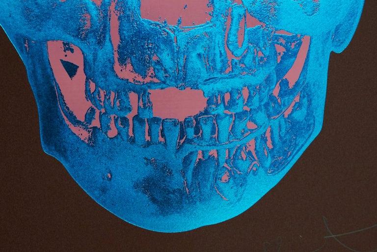 Damien Hirst, Skull, Brown/Blue, (2012)  For Sale 1