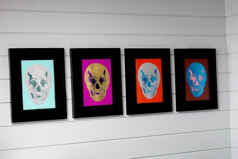 Damien Hirst, Skull, Brown/Blue, (2012)  For Sale 4