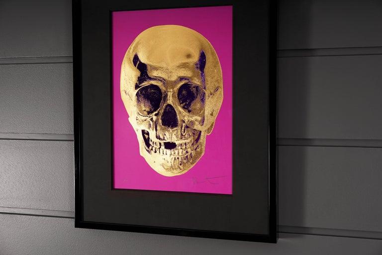 The skull entitled