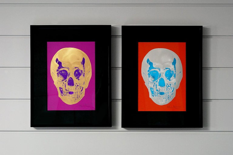 Damien Hirst, Skull, Red/Silver, (2012)  For Sale 11