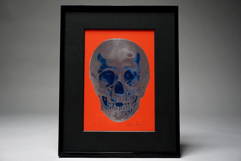 Damien Hirst, Skull, Red/Silver, (2012)  For Sale 2