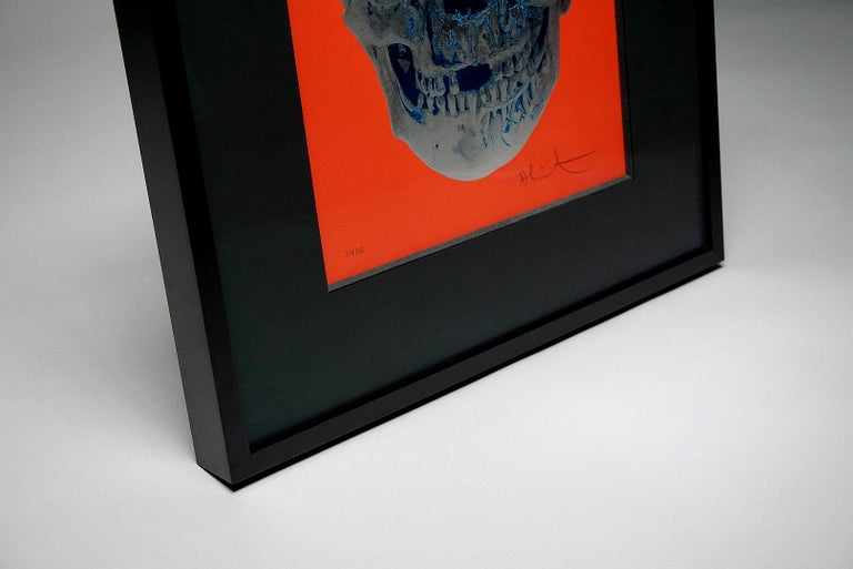 Damien Hirst, Skull, Red/Silver, (2012)  For Sale 3