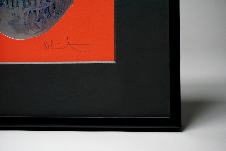 Damien Hirst, Skull, Red/Silver, (2012)  For Sale 5