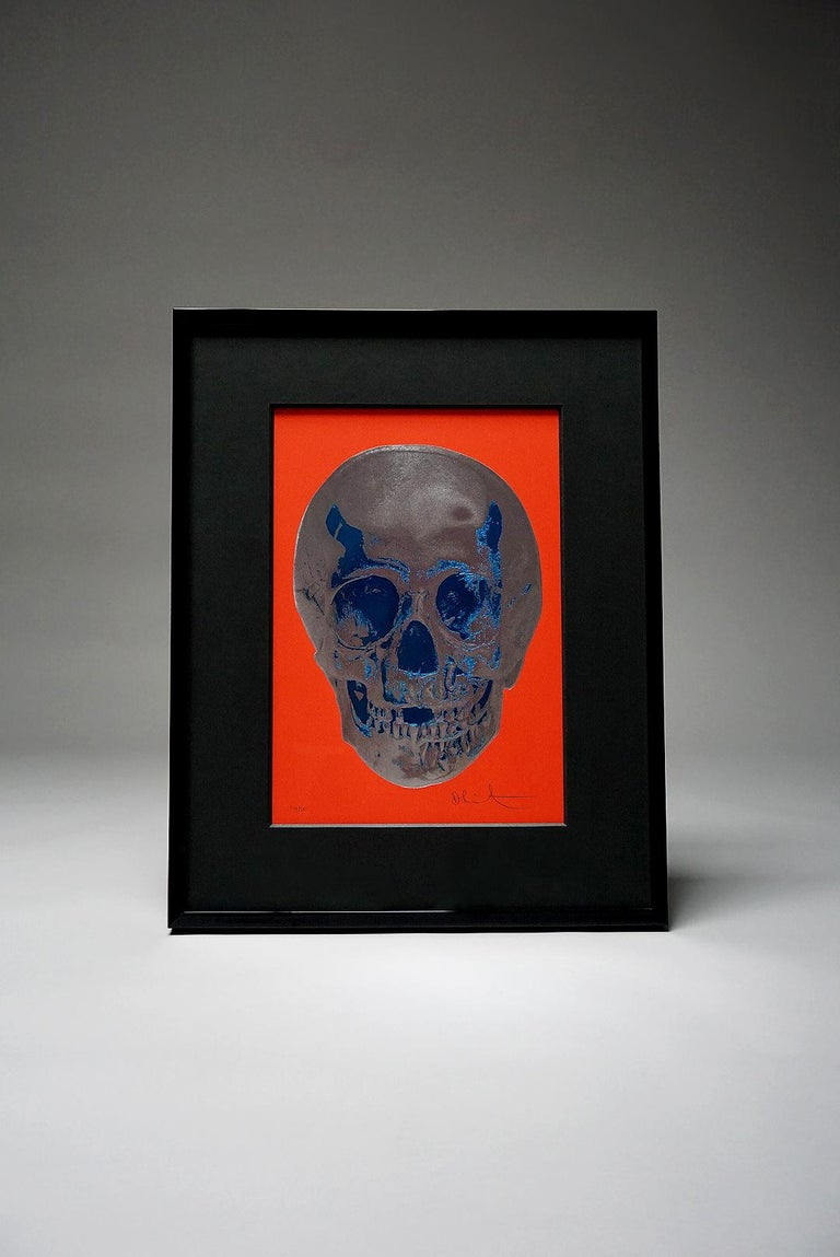 Damien Hirst, Skull, Red/Silver, (2012)  For Sale 6