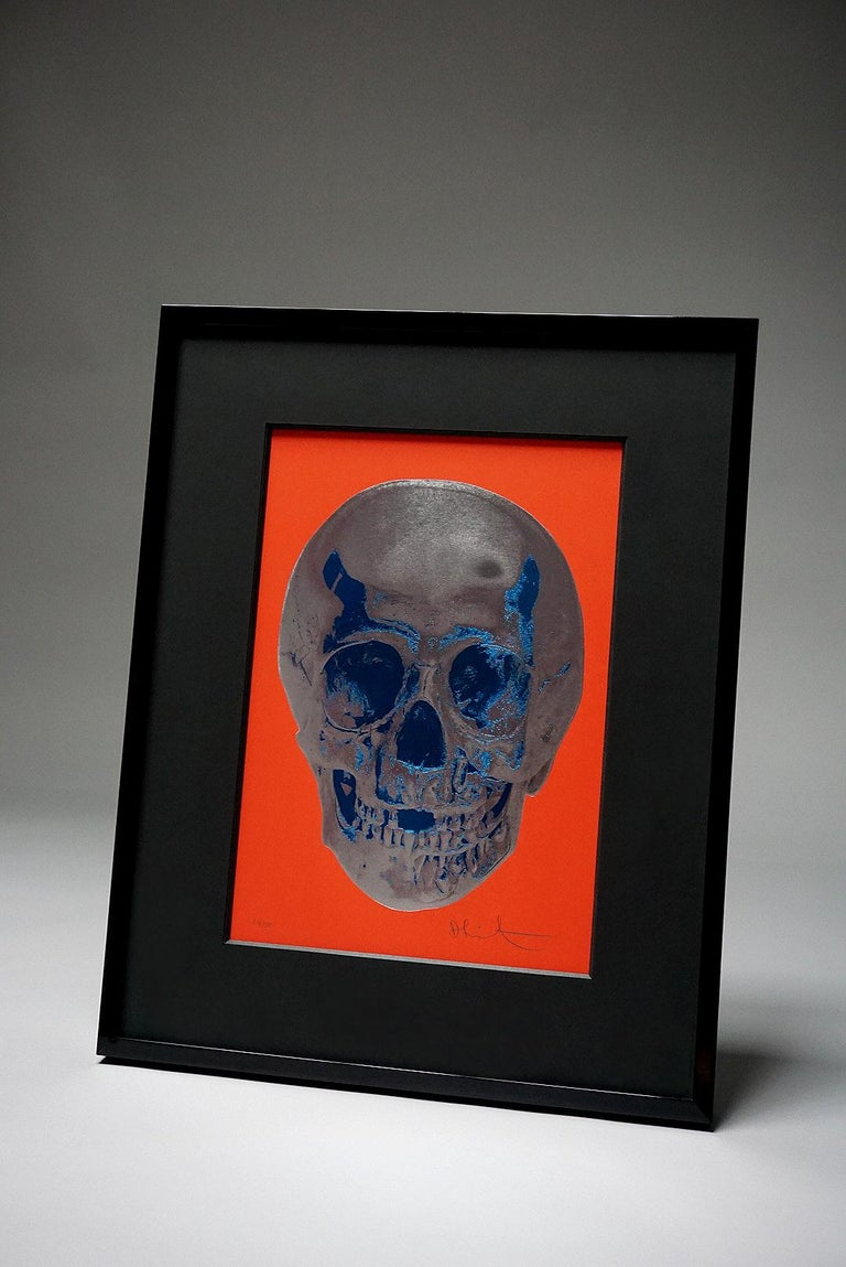 Damien Hirst, Skull, Red/Silver, (2012)  For Sale 7