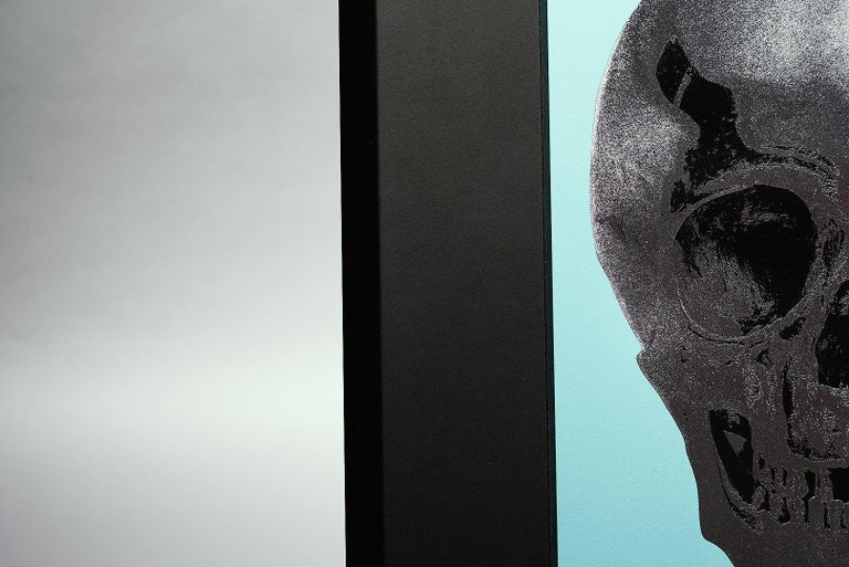 Damien Hirst, Skull, Turquoise/Silver (2012)  For Sale 3