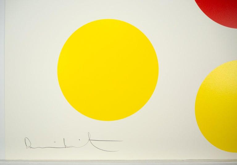 Damien Hirst, Small Mickey Spot, Silkscreen Print, 2014 For Sale 2