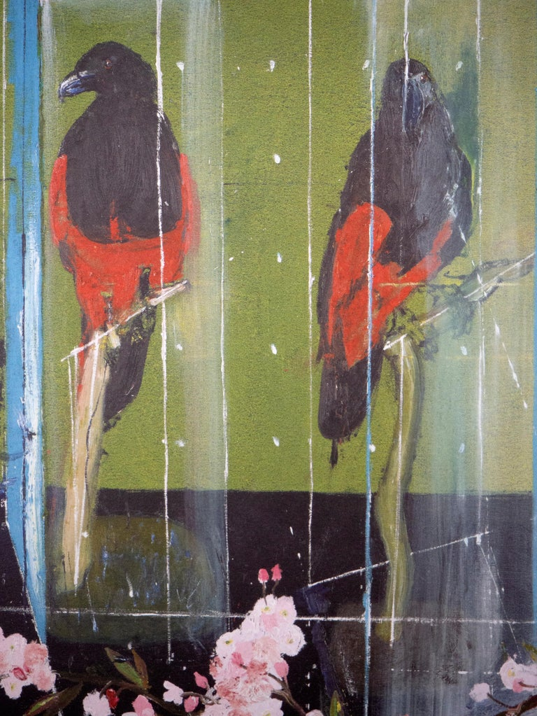 Damien Hirst, Two Parrots, Lithograph, 2012 For Sale 2