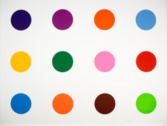 Damien Hirst, Tyloxapol, Woodcut Print, 2010