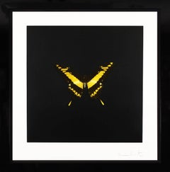 Damien Hirst, Yellow Butterfly Soul Etching, 2007