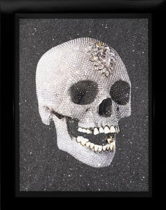 'For The Love Of God' Laugh Skull with Diamond Dust, 2007