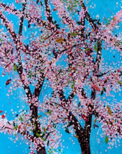 Honour -- Laminated Giclée print, The Virtues, Cherry Blossom Tree by Hirst