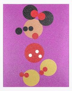 Minnie (Pink Glitter), Damien Hirst