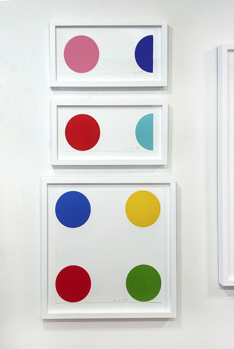 Quinizarin - Young British Artists (YBA) Print by Damien Hirst
