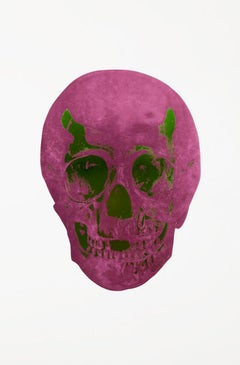 The Dead - Loganberry Pink/Lime Green