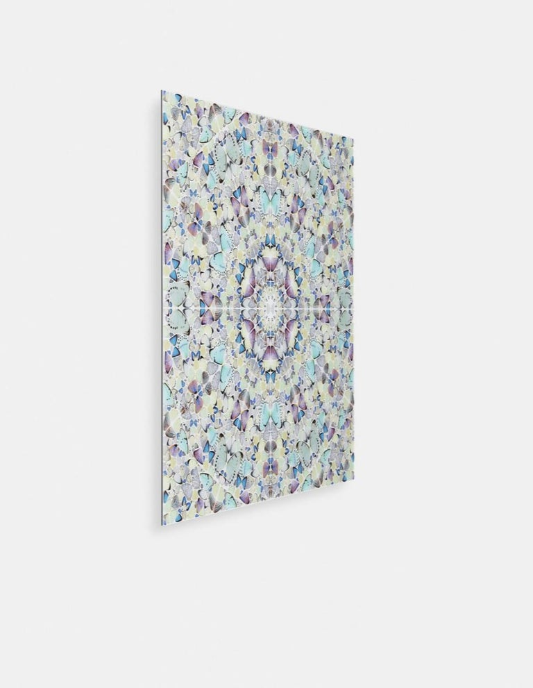 Artist:  Damien Hirst Title: The Elements: Air Size:   39 1/4 x 39 1/4 Inches (99.7 x 99.7 CM) Medium:  Diasec mounted giclée print on aluminum composite panel. Edition:  of 60 Year:  2020 Notes: Numbered and Signed by the Artist.   As the least