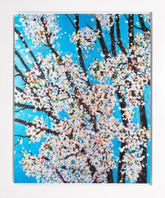 The Virtues 'Justice', Limited Edition 'Cherry Blossom' Landscape, 2021