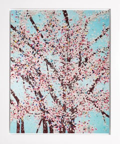 The Virtues 'Mercy', Limited Edition 'Cherry Blossom' Landscape, 2021