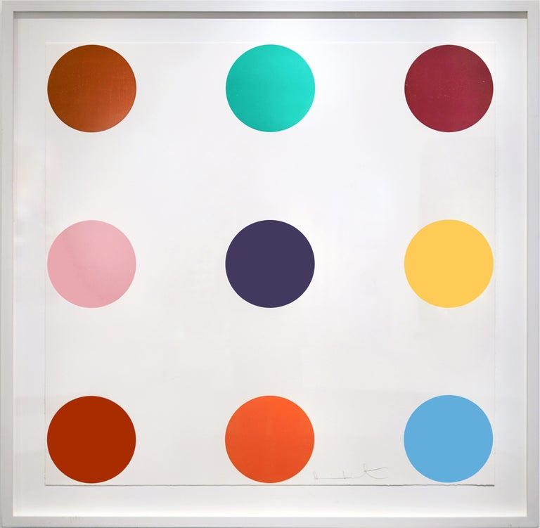 Tryptophan  - Print by Damien Hirst