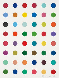 Untitled -- Spot Print, Etching, Colour Space, Pop Art, by Damien Hirst