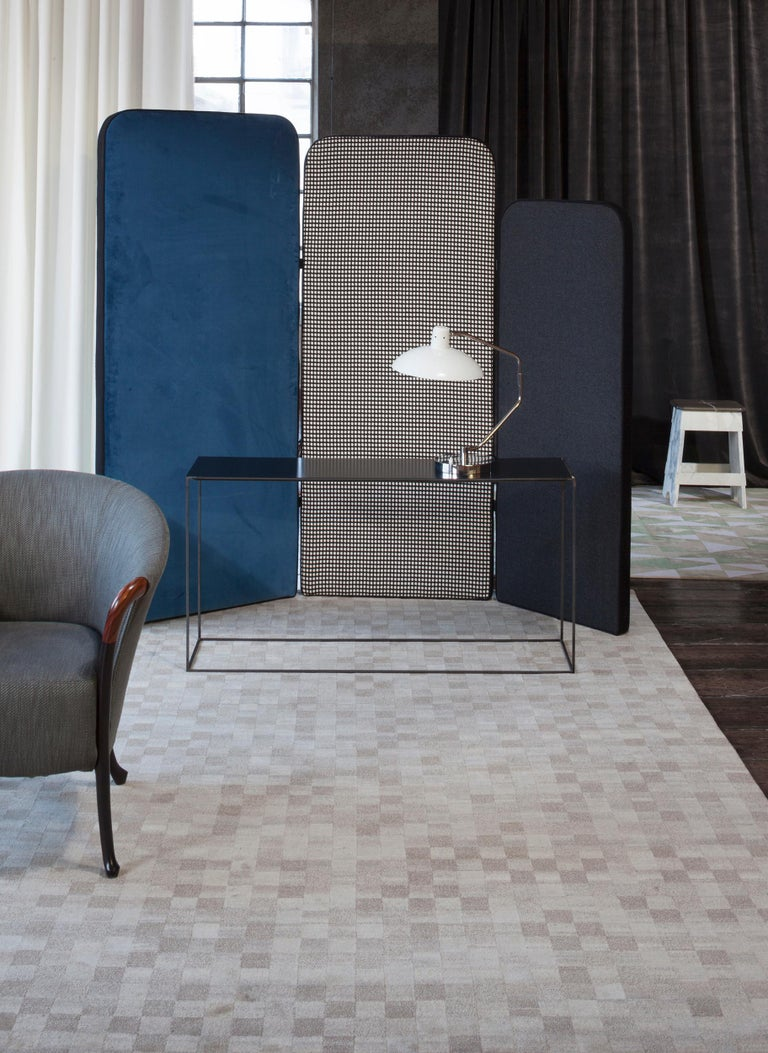 Damier 2.0 Rug by CC-Tapis In New Condition For Sale In New York, NY