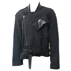 Damir Domas Deconstructed Jacket Customised by Benedict Lamb
