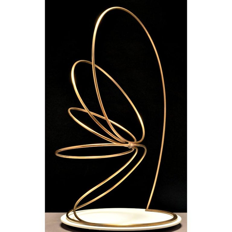 Damon Hyldreth Abstract Sculpture - Circulus #06 ed. 1/7