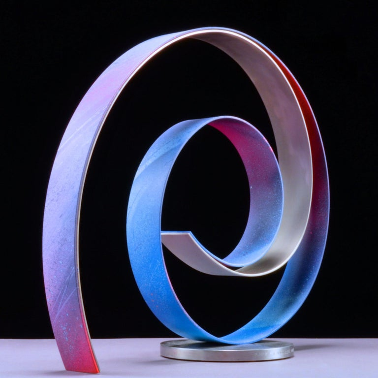 Damon Hyldreth Abstract Sculpture - KNOT #69A ed 1/7