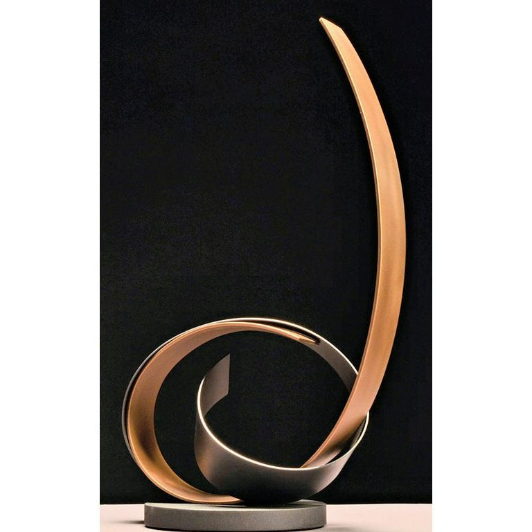Damon Hyldreth Abstract Sculpture - Knot #87SP - ed 1/7