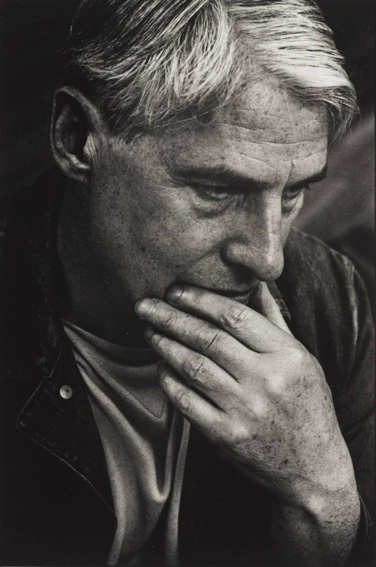 Dan Budnik Portrait Photograph - William DeKooning, 831 Broadway Studio, New York