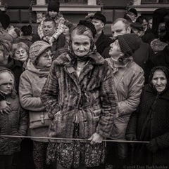 """Parade Watchers, Romania"" Romanian Series, A/P"