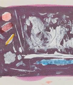 """Dan Christensen """"Grape Crush"""", 1998"""