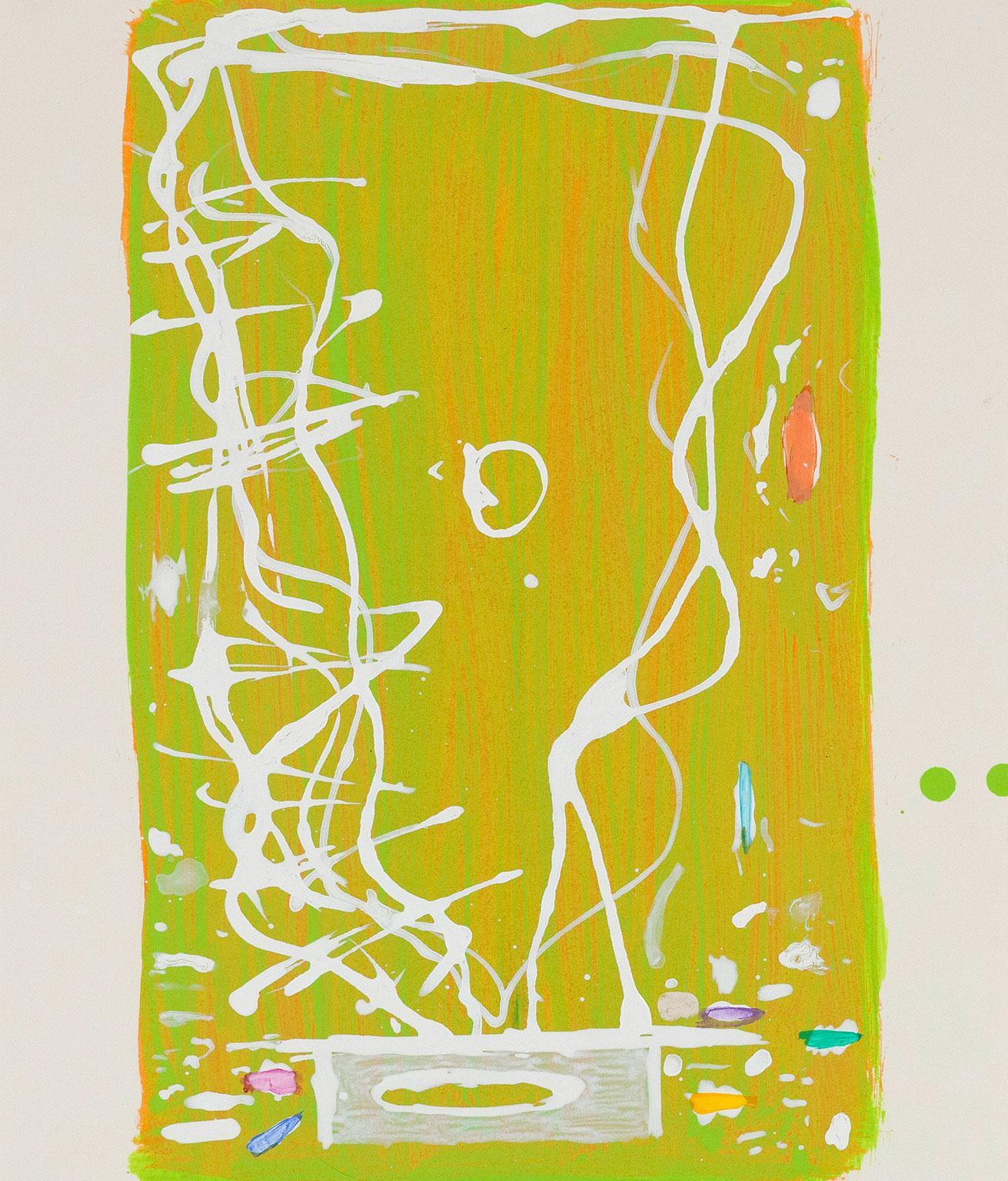 """Dan Christensen """"Mango Fizz"""", 2002"""