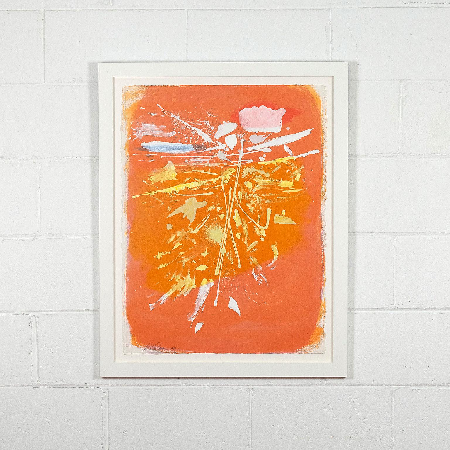 "Dan Christensen ""Orange Crush"""