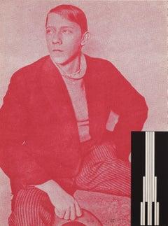Untitled -- Print, Screen Print, Figure, Tatlin, Light, Minimalist by Dan Flavin