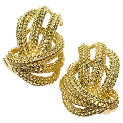 Dan Frere 14 Karat Gold Earrings