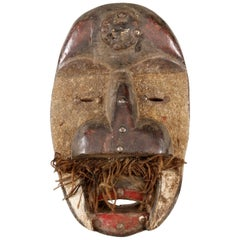 """Dan Guéré"" African Tribal Art Mask Sculpture from Ivory Coast, 20th Century"