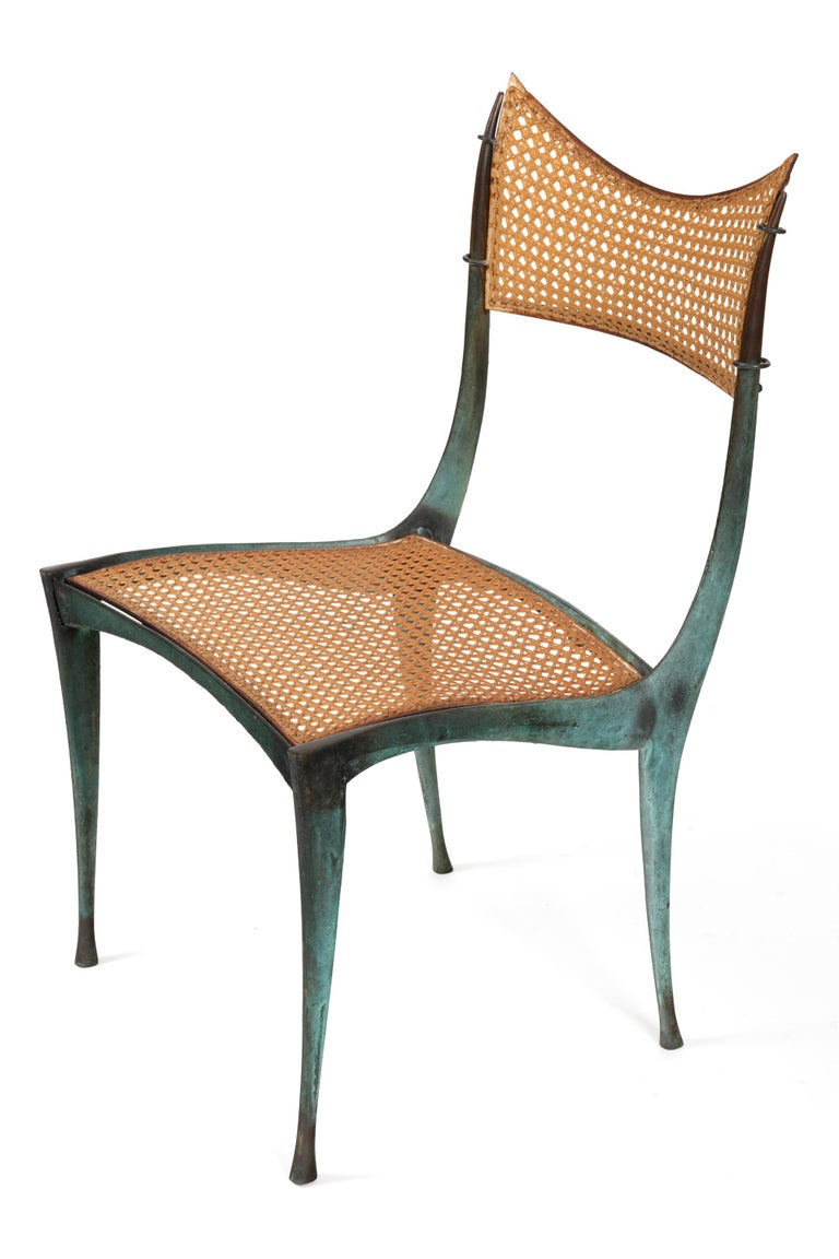 A remarkably distinctive and rare design. The Gazelle chair is both beautifully sculptural and comfortable.