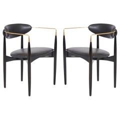 "Dan Johnson ""Viscount Chairs"", Denmark, 1950s"