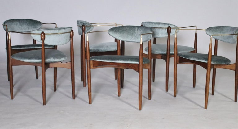 Mid-Century Modern Dan Johnson Viscount Chairs For Sale