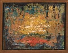 Harvest Moon, Painting, Oil on Wood Panel