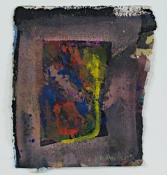 """""""Discarded Becomes Life (Window To The World),"""" Mixed Media signed by Dan Muller"""