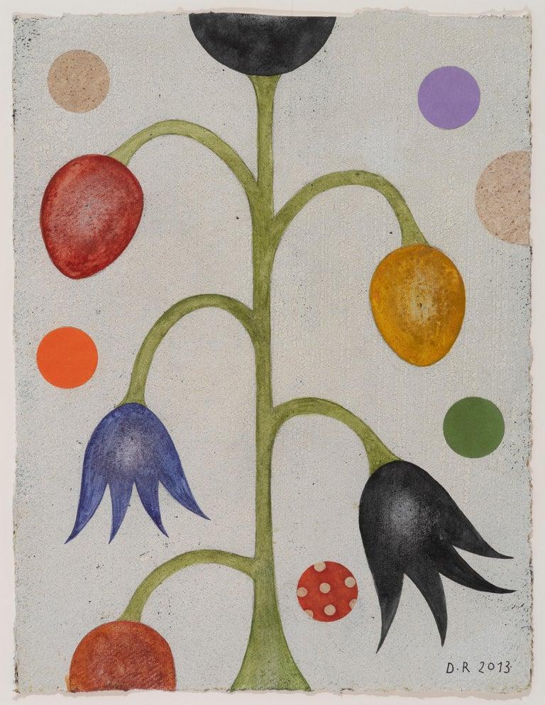 Dan Rizzie Still-Life Painting - Winter Flower