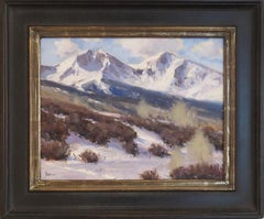 Below Sopris Mountain Ranch (colors of snow, shadows, winter)