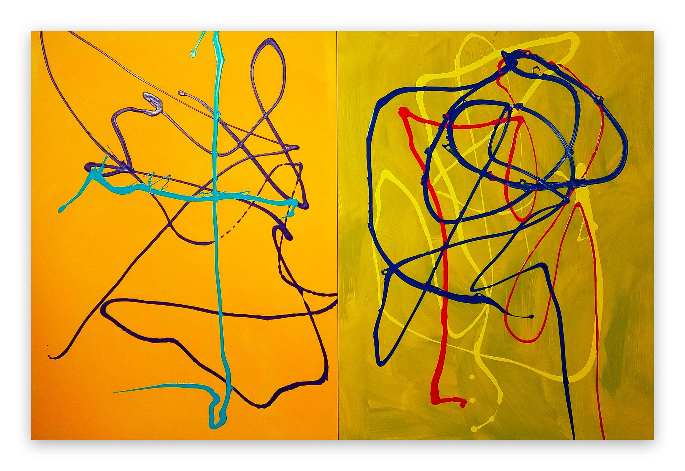 Same Time, Same Place (Abstract painting)