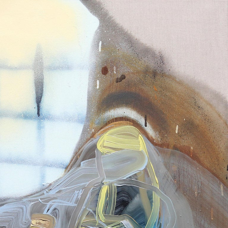 In Dana Oldfathers original abstract artworks, fantasy and obligation charge and bind domestic environments, giving memories a new expression. Dana Oldfather celebrates the process of painting and the oddity of human experience with a focus on